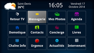 Interface télé Elderis